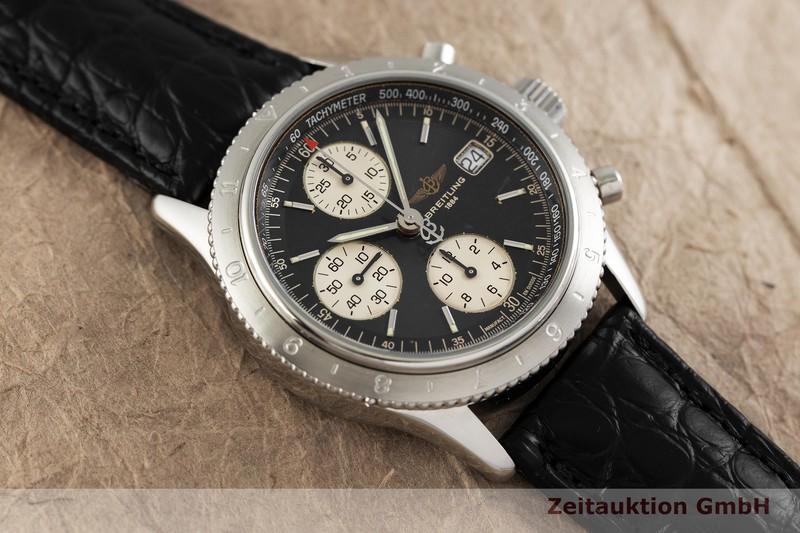 gebrauchte Luxusuhr Breitling Navitimer Chronograph Stahl Automatik Kal. B13, ETA 7750 Ref. A13023.1    2003316 _1