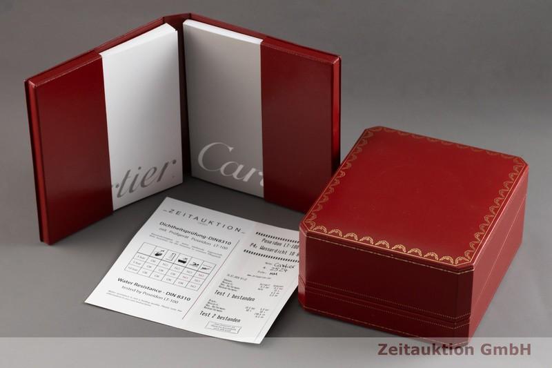 gebrauchte Luxusuhr Cartier Roadster 18k Gold Automatik Kal. ETA 2892-A2 Ref. 2524  | 2003322 _0