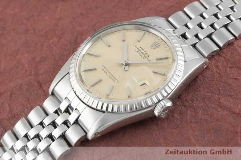 gebrauchte Luxusuhr Rolex Datejust Stahl Automatik Kal. 1570 Ref. 1603 VINTAGE  | 2003331 _0