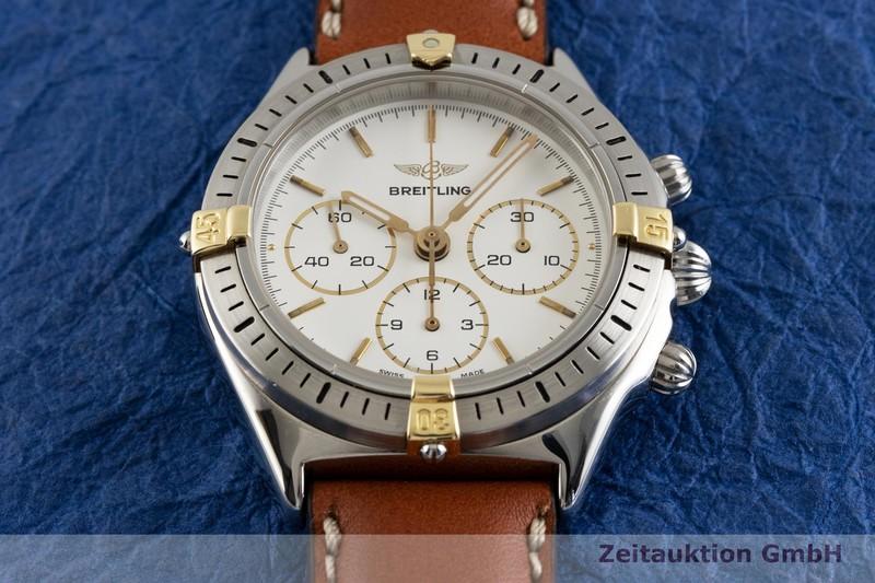 gebrauchte Luxusuhr Breitling Callisto Chronograph Stahl / Gold Handaufzug Kal. Lemania 1873 Ref. B11045  | 2003333 _1