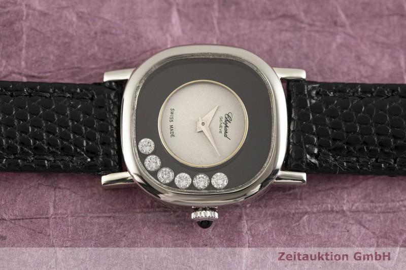 gebrauchte Luxusuhr Chopard Happy Diamonds 18k Weissgold Handaufzug Kal. 2442 Ref. G3355, 50896  | 2003335 _0