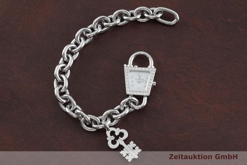 gebrauchte Luxusuhr Corum Padlock Stahl Quarz Kal. ETA E01.001 Ref. 137.414.47  | 2003339 _1