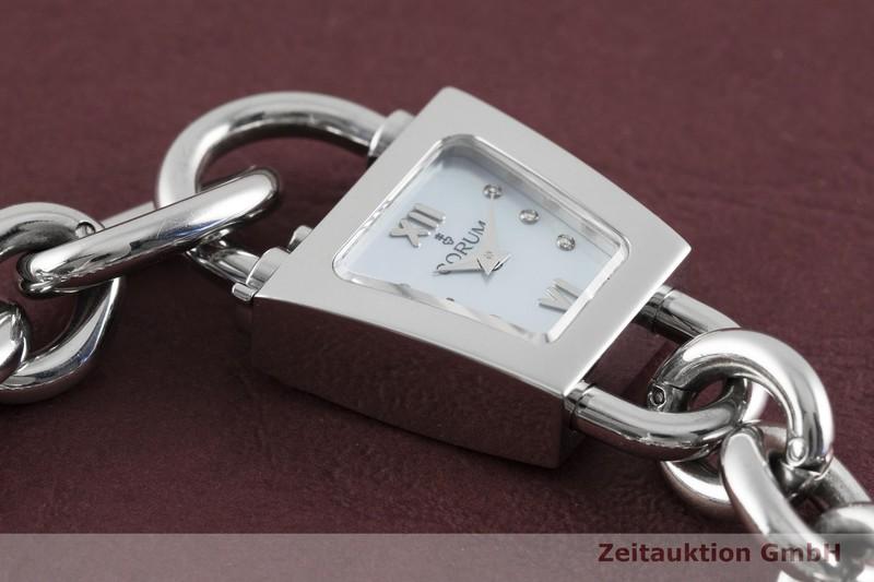 gebrauchte Luxusuhr Corum Padlock Stahl Quarz Kal. ETA E01.001 Ref. 137.414.20  | 2003340 _1