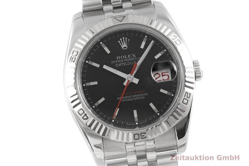 gebrauchte Luxusuhr Rolex Datejust Stahl / Weissgold Automatik Kal. 3135 Ref. 116264  | 2003347 _0