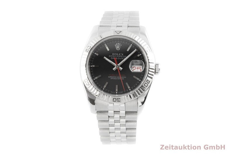 gebrauchte Luxusuhr Rolex Datejust Stahl / Weissgold Automatik Kal. 3135 Ref. 116264  | 2003347 _1