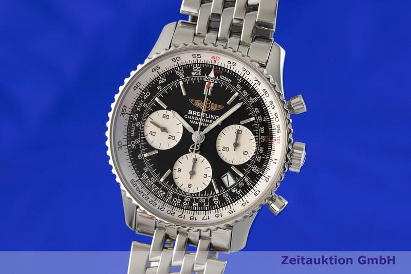 gebrauchte Luxusuhr Breitling Navitimer 01 Chronograph Stahl Automatik Kal. B23, ETA 7753 Ref. A23322  | 2003367 _0