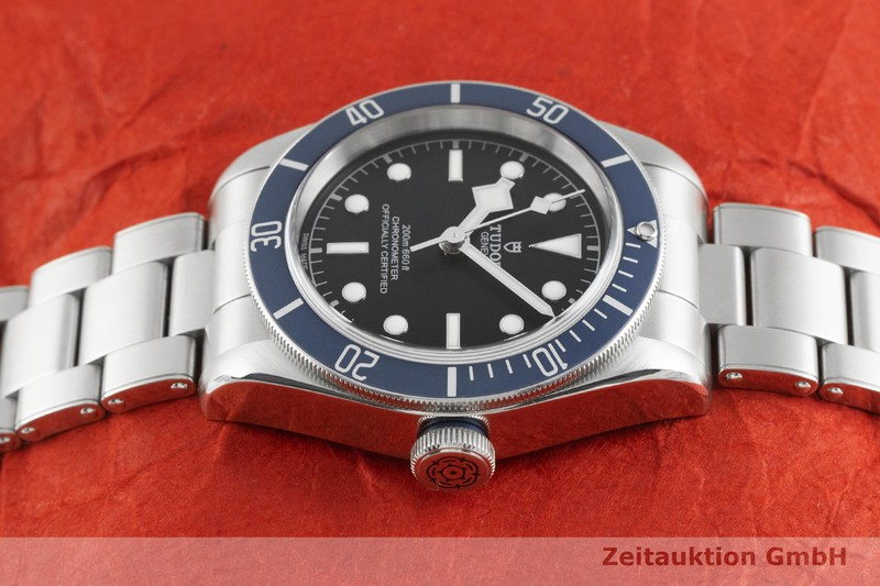 gebrauchte Luxusuhr Tudor Heritage Black Bay Stahl Automatik Kal. MT5602 Ref. 79230B    2003376 _0