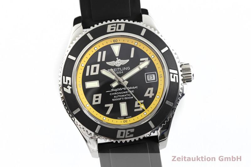 gebrauchte Luxusuhr Breitling Superocean Heritage 42 Stahl Automatik Kal. B17, ETA 2824-2 Ref. A17364  | 2003392 _0
