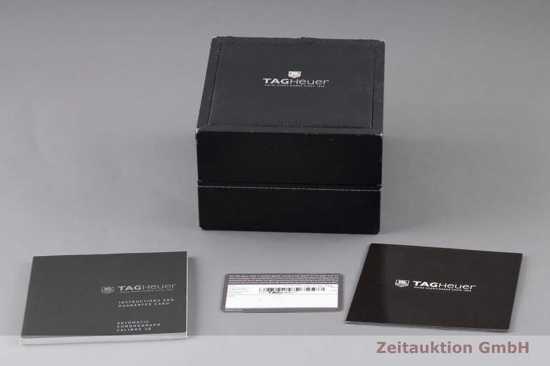 gebrauchte Luxusuhr Tag Heuer Aquaracer Chronograph Stahl vergoldet Automatik Kal. 16, ETA 7750 Ref. CAP2120  | 2003399 _0
