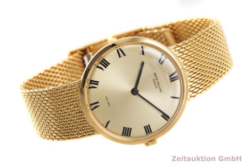 gebrauchte Luxusuhr Patek Philippe Calatrava 18k Gold Handaufzug Kal. 23-300 Ref. 35621 VINTAGE    2003411 _0