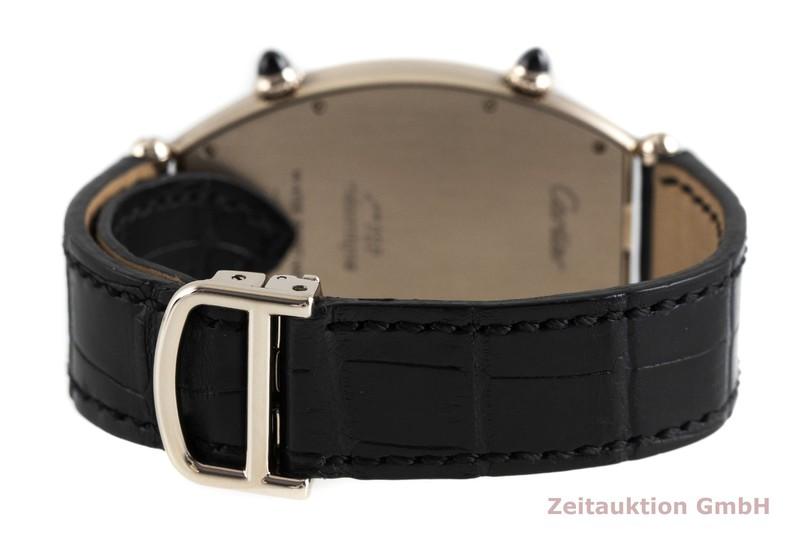 gebrauchte Luxusuhr Cartier Tonneau 18k Weissgold Handaufzug Kal. 9770 MC (2x) Ref. 2806  | 2003420 _1