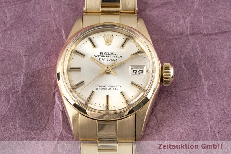 gebrauchte Luxusuhr Rolex Lady Datejust 18k Gold Automatik Kal. 1161 Ref. 6516  | 2003421 _1
