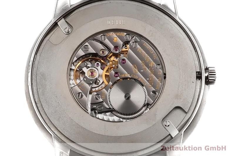 gebrauchte Luxusuhr Vacheron & Constantin Patrimony 18k Weissgold Handaufzug Kal. 1400 Ref. 81180    2003422 _0