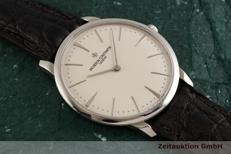 gebrauchte Luxusuhr Vacheron & Constantin Patrimony 18k Weissgold Handaufzug Kal. 1400 Ref. 81180    2003422 _1