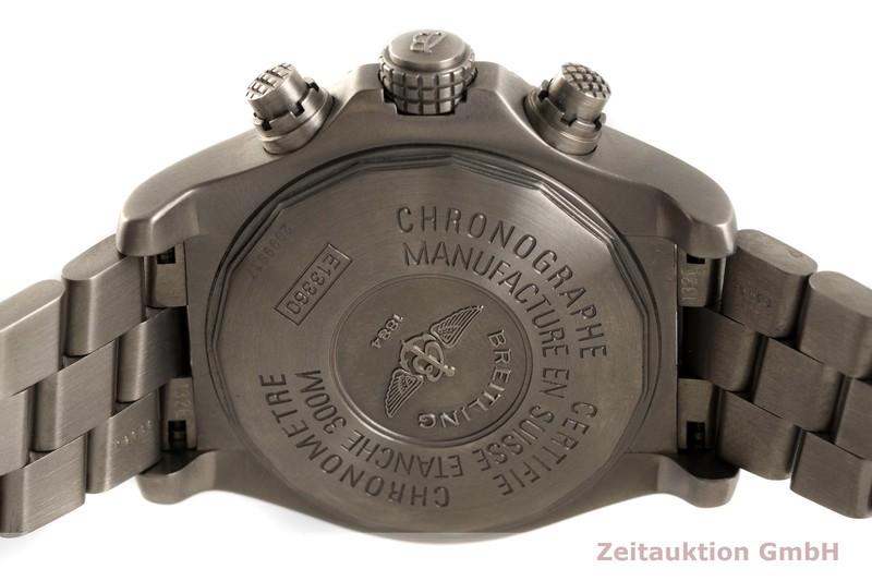 gebrauchte Luxusuhr Breitling Avenger Chronograph Titan Automatik Kal. B13, ETA 7750 Ref. E13360  | 2003429 _0