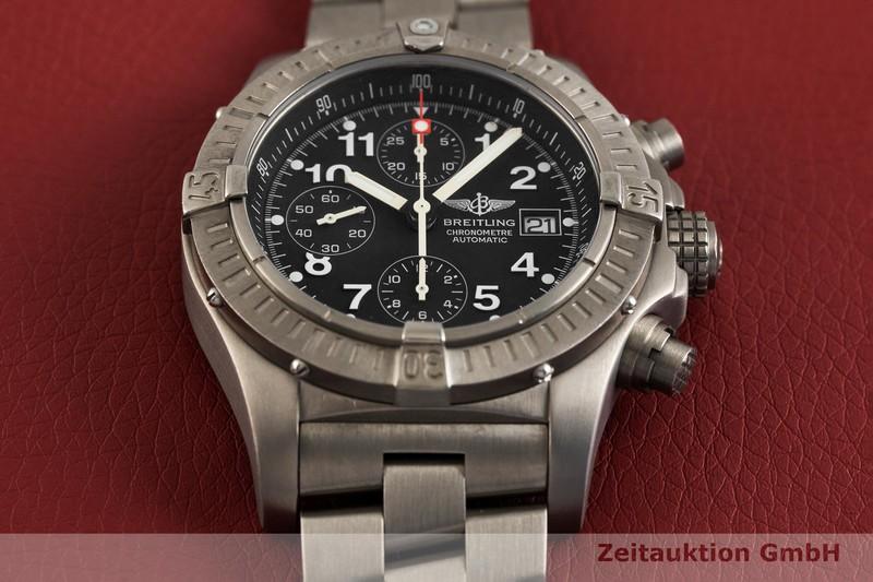 gebrauchte Luxusuhr Breitling Avenger Chronograph Titan Automatik Kal. B13, ETA 7750 Ref. E13360  | 2003429 _1