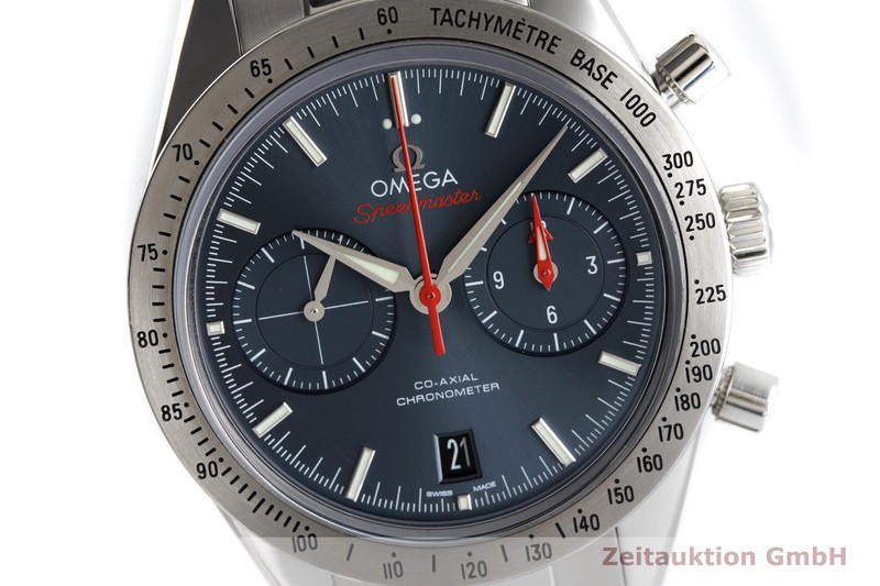gebrauchte Luxusuhr Omega Speedmaster Chronograph Stahl Automatik Kal. 930 Ref. 331.10.42.51.03.001  | 2003439 _0