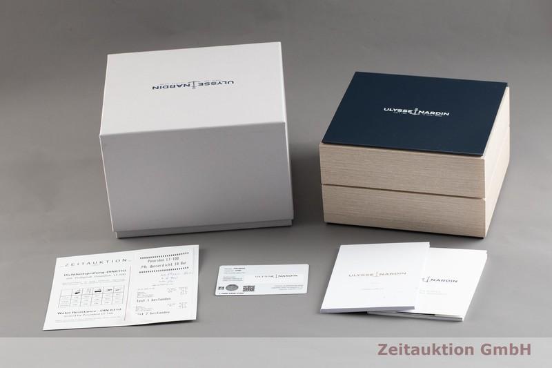 gebrauchte Luxusuhr Ulysse Nardin Dual Time 18k Gold Automatik Kal. UN024 Ref. 246-00/43  | 2003445 _0