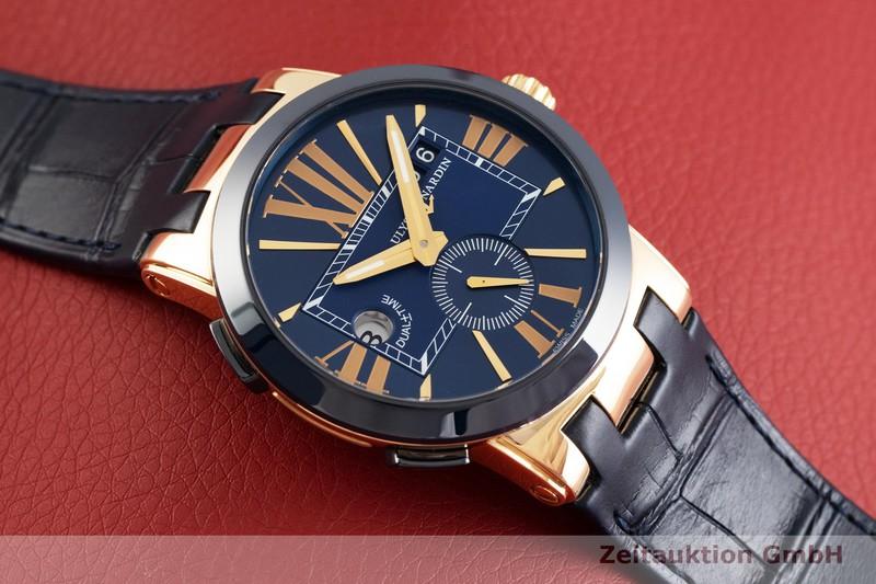 gebrauchte Luxusuhr Ulysse Nardin Dual Time 18k Gold Automatik Kal. UN024 Ref. 246-00/43  | 2003445 _1