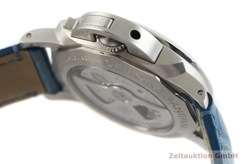 gebrauchte Luxusuhr Panerai Luminor GMT Stahl Automatik Kal. P.9011 Ref. PAM01033, OP7118 LIMITED EDITION | 2003446 _0