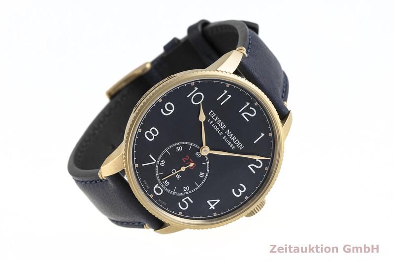 gebrauchte Luxusuhr Ulysse Nardin Marine Torpilleur Bronze Automatik Kal. UN-118 Ref. 1187-320 LIMITED EDITION | 2003450 _0