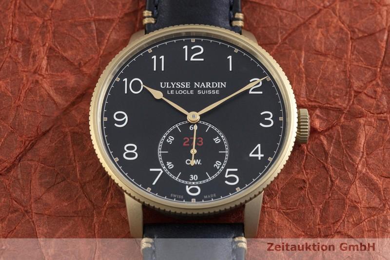 gebrauchte Luxusuhr Ulysse Nardin Marine Torpilleur Bronze Automatik Kal. UN-118 Ref. 1187-320 LIMITED EDITION | 2003450 _1