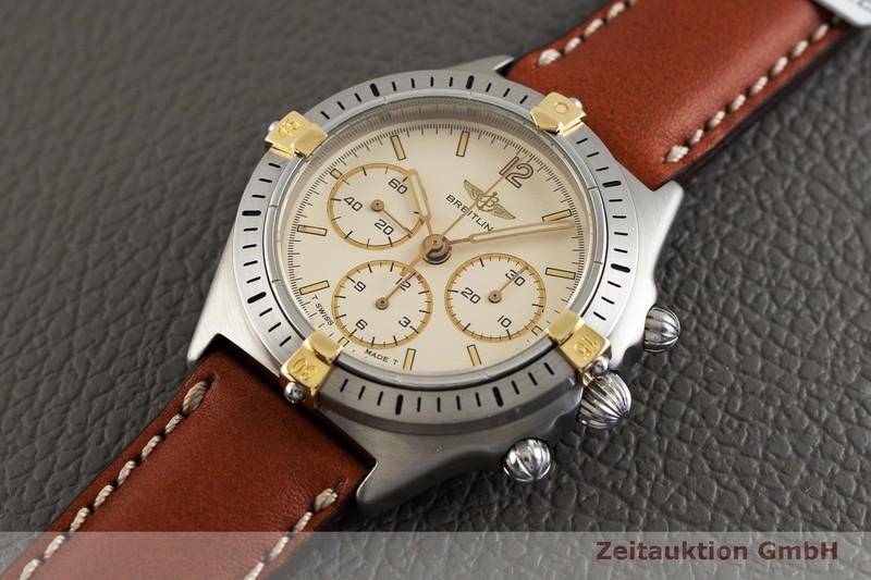 gebrauchte Luxusuhr Breitling Callisto Chronograph Stahl / Gold Handaufzug Kal. Lemania 1873 Ref. 80520-1  | 2003452 _0