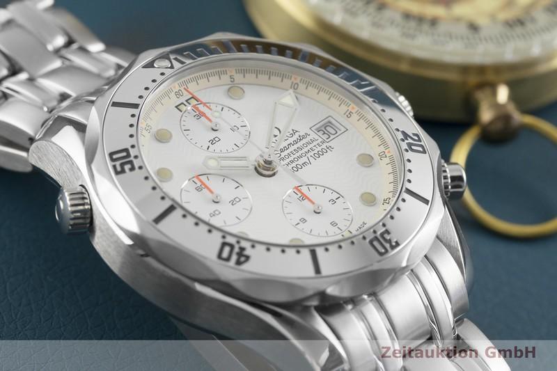 gebrauchte Luxusuhr Omega Seamaster Chronograph Stahl Automatik Kal. 1164 Ref. 378.0514, 178.0514  | 2003464 _0