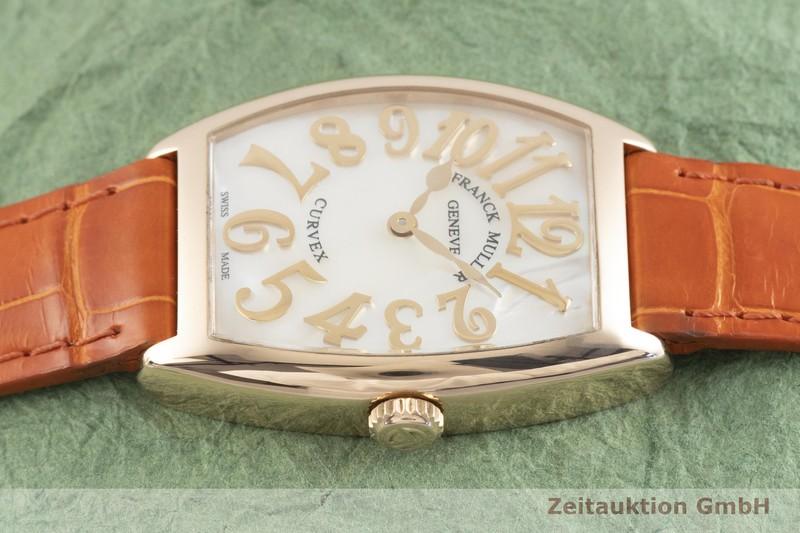gebrauchte Luxusuhr Franck Muller Curvex 18k Gold Quarz Kal. 772 Ref. 7502  | 2003469 _0