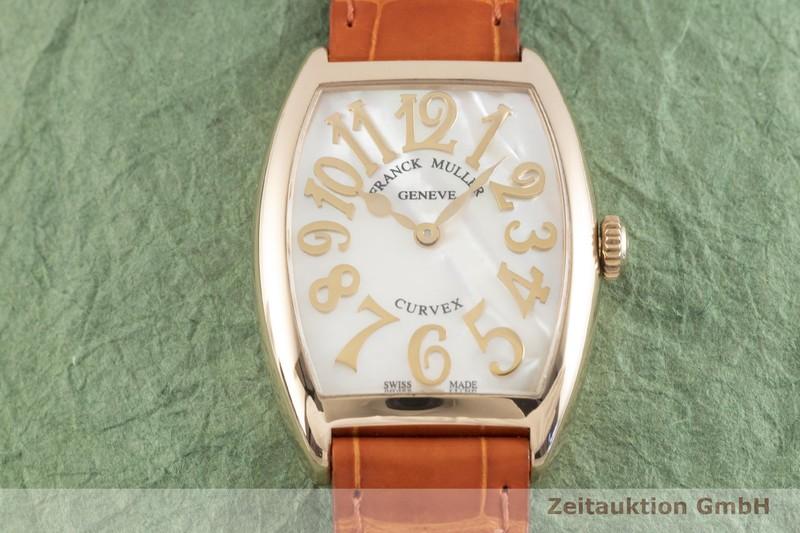 gebrauchte Luxusuhr Franck Muller Curvex 18k Gold Quarz Kal. 772 Ref. 7502  | 2003469 _1