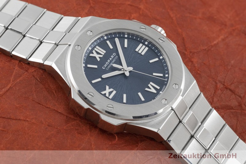 gebrauchte Luxusuhr Chopard Alpine Eagle Stahl Automatik Kal. 09.01-C Ref. 8601  | 2003476 _1