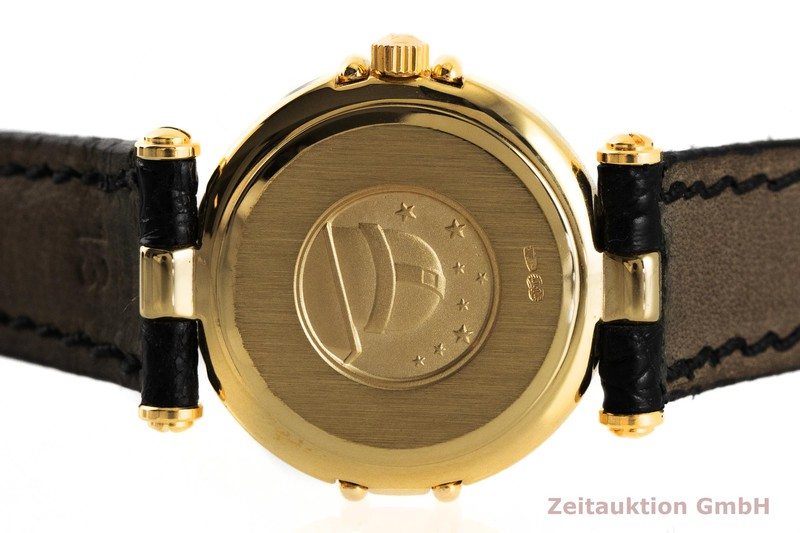 gebrauchte Luxusuhr Omega Constellation 18k Gold Quarz Kal. 1455, ETA 976.001 Ref. 695.1080  | 2003502 _0
