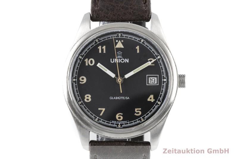 gebrauchte Luxusuhr Union Glashütte Tradition Flieger Stahl Automatik Kal. 26-11  | 2003506 _0