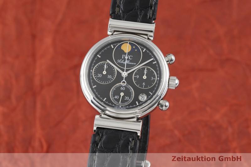 gebrauchte Luxusuhr IWC Da Vinci Chronograph Stahl Quarz Kal. 630/1 Ref. 3736    2003509 _0
