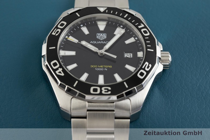 gebrauchte Luxusuhr Tag Heuer Aquaracer Stahl Quarz Kal. ETA 955.112 Ref. WAY101A    2003526 _1