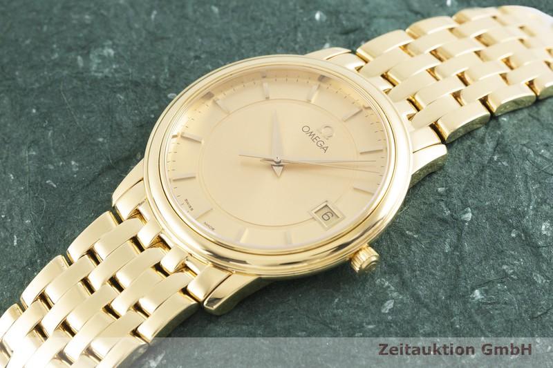 gebrauchte Luxusuhr Omega De Ville 18k Gold Quarz Kal. 1432 Ref. 396.1050  | 2003534 _0