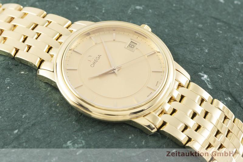 gebrauchte Luxusuhr Omega De Ville 18k Gold Quarz Kal. 1432 Ref. 396.1050  | 2003534 _1