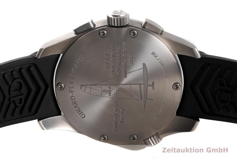 gebrauchte Luxusuhr Girard Perregaux BMW Oracle Racing Chronograph Titan Automatik Kal. 33 CO.AD Ref. 49931 LIMITED EDITION | 2003545 _0
