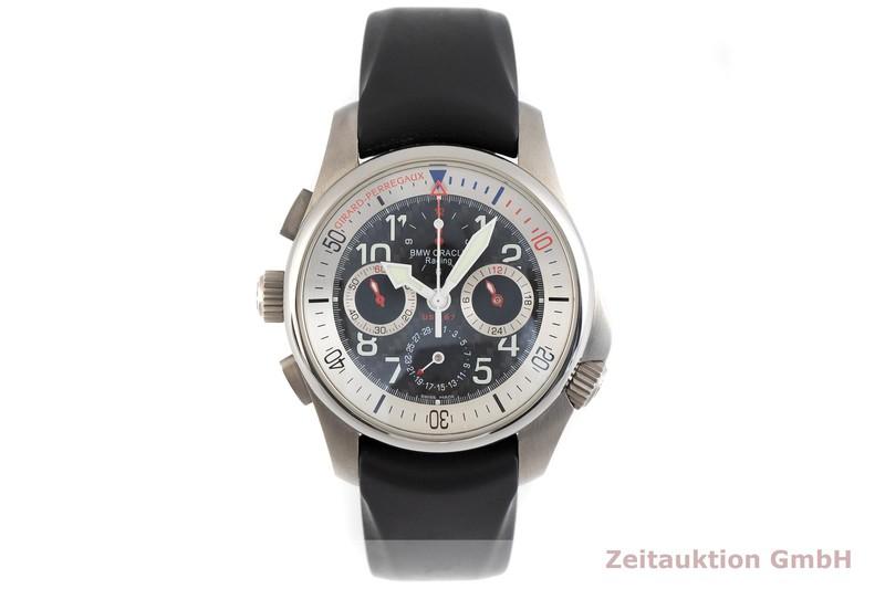gebrauchte Luxusuhr Girard Perregaux BMW Oracle Racing Chronograph Titan Automatik Kal. 33 CO.AD Ref. 49931 LIMITED EDITION | 2003545 _1