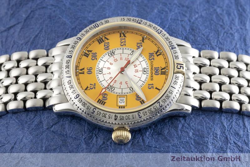 gebrauchte Luxusuhr Longines Lindbergh Stundenwinkel Stahl / Gold Automatik Kal. L619.2, ETA 2892-A2 Ref. L2.617.5    2003561 _0
