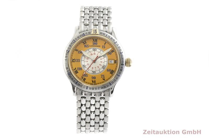 gebrauchte Luxusuhr Longines Lindbergh Stundenwinkel Stahl / Gold Automatik Kal. L619.2, ETA 2892-A2 Ref. L2.617.5    2003561 _1