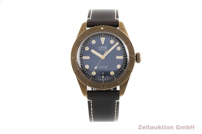 gebrauchte Luxusuhr Oris Divers Bronze Automatik Kal. 733 26 JEW, SW 200-1 Ref. 7720-31 LIMITED EDITION | 2003576 _1