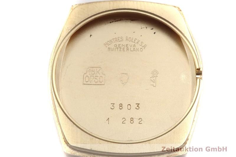 gebrauchte Luxusuhr Rolex Cellini 18k Gold Handaufzug Kal. 1600 Ref. 3803  | 2003580 _0