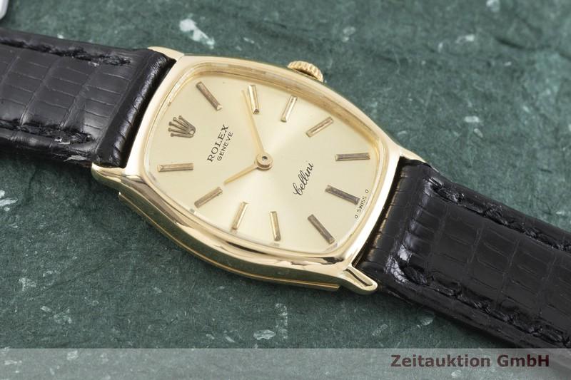 gebrauchte Luxusuhr Rolex Cellini 18k Gold Handaufzug Kal. 1600 Ref. 3803  | 2003580 _1