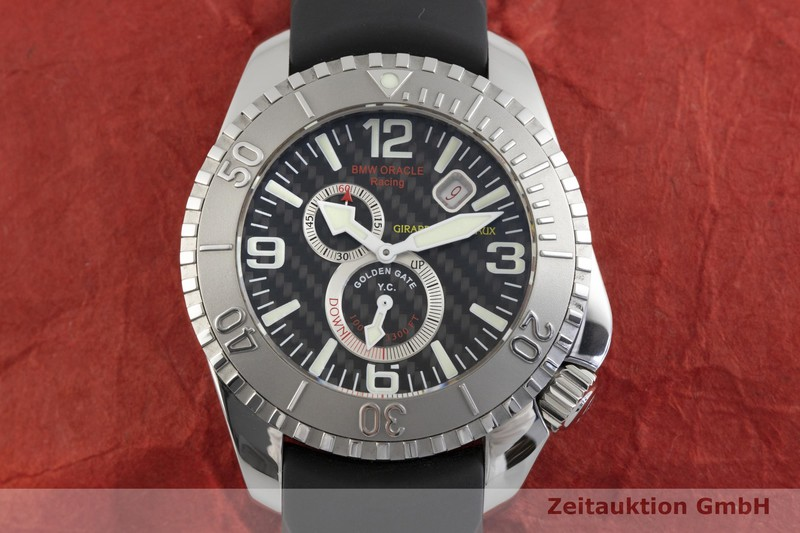 gebrauchte Luxusuhr Girard Perregaux Sea Hawk Stahl Automatik Kal. 330B Ref. 49950 LIMITED EDITION | 2003593 _1