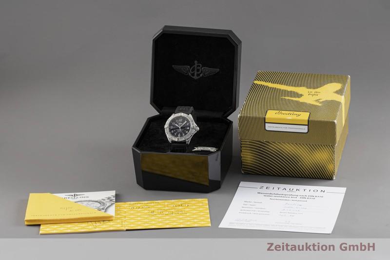 gebrauchte Luxusuhr Breitling Superocean Stahl Automatik Kal. B17, ETA 2824-2 Ref. A17345  | 2003616 _0