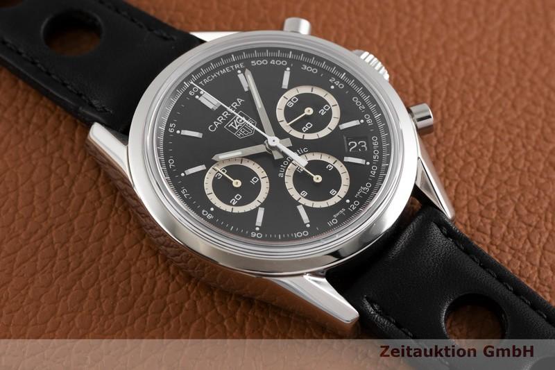 gebrauchte Luxusuhr Tag Heuer Carrera Chronograph Stahl Automatik Kal. 17, ETA 2894-2 Ref. CV2114 LIMITED EDITION | 2003631 _1