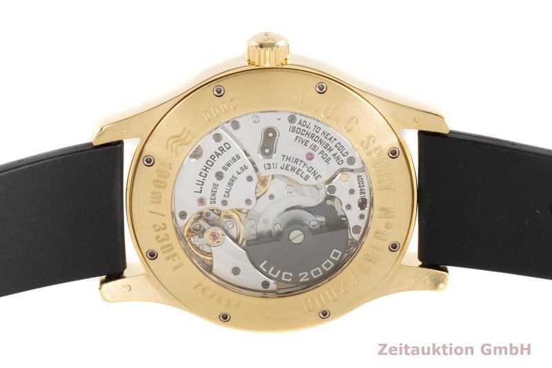 gebrauchte Luxusuhr Chopard L.U.C Sport 18k Gold Automatik Kal. 4.96 Ref. 2000 LIMITED EDITION | 2003634 _1