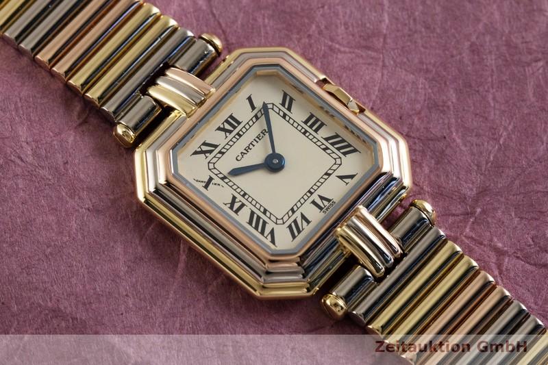 gebrauchte Luxusuhr Cartier Trinity 18k Gold Quarz Kal. 66    2003647 _1