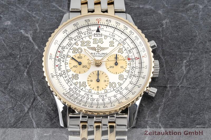 gebrauchte Luxusuhr Breitling Navitimer Cosmonaute Chronograph Stahl / Gold Handaufzug Kal. Lemania 1873/24 Ref. D12022  | 2003654 _1